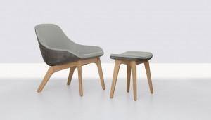 Καθίσματα Morph pouf από τους Formstelle για τη Zeitraum.