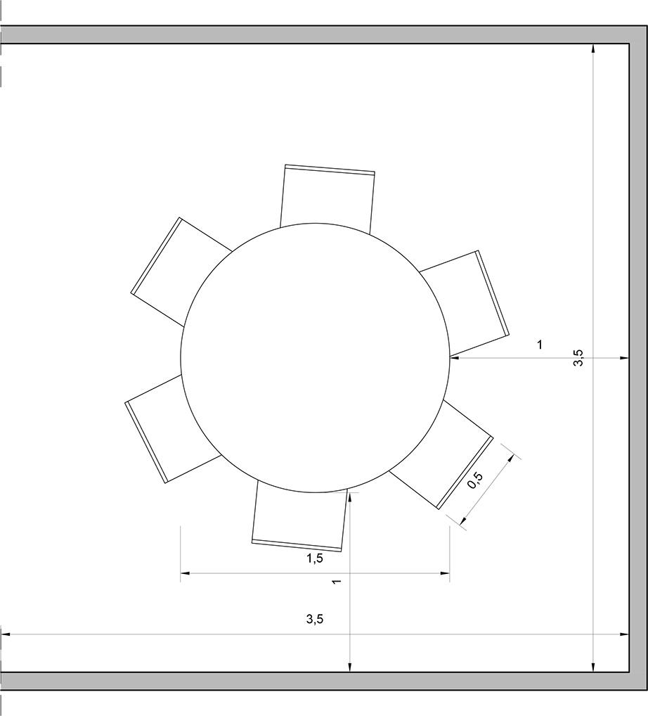 Τραπεζαρία: Τετράγωνη, μακρόστενη ή στρογγυλή;