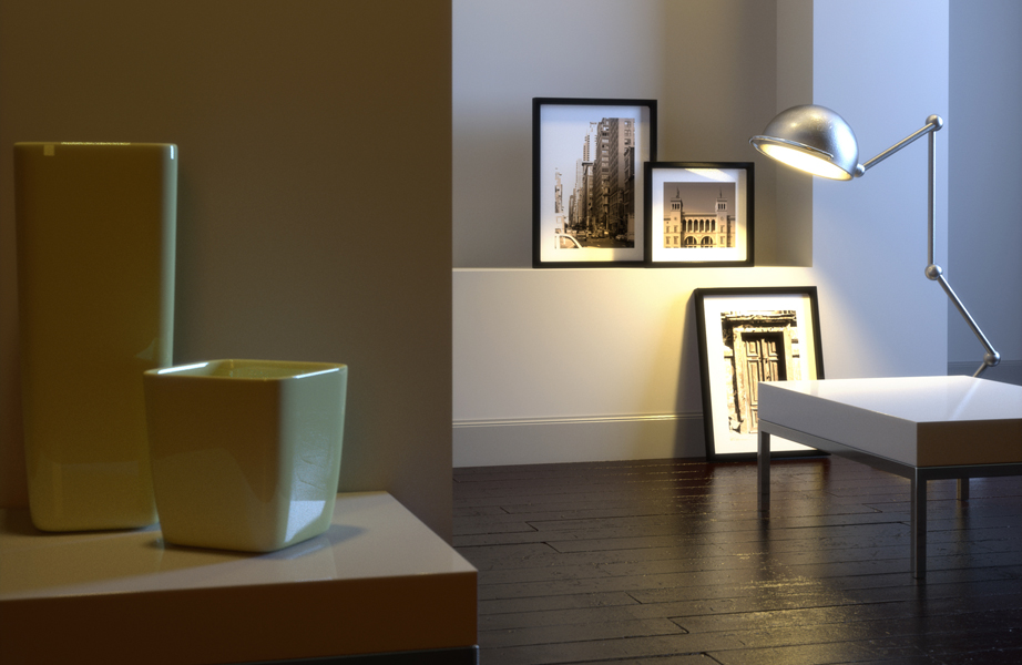 Μην αμελείτε μικές αρχιτεκτονικές λεπτομέρειες. Αξιοποιήστε τες με το σωστό φωτισμό, για να φτιάξετε μια μίνι γκαλερί.
