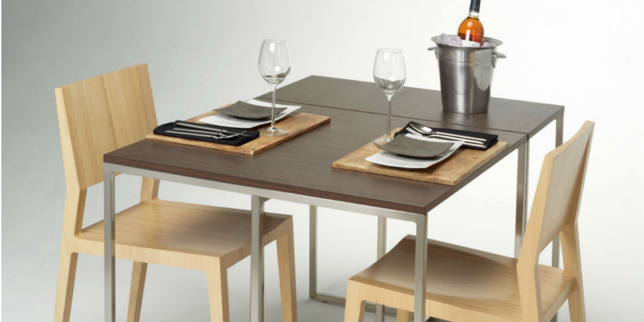 two dining tables