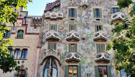 Η κατοικία Josep Batlló στη Βαρκελώνη, του Gaudi.