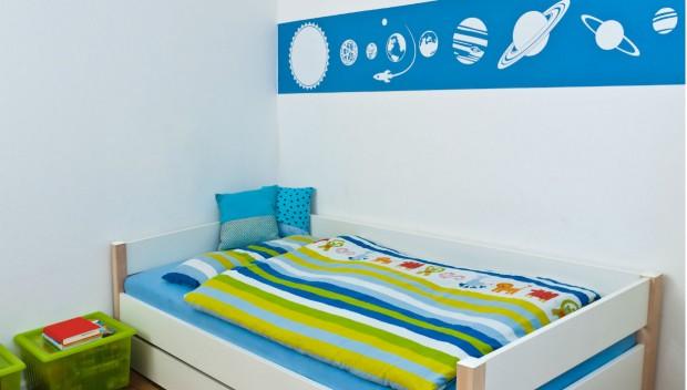 «Πώς μπορώ να κρύψω ένα δοκάρι στο παιδικό δωμάτιο»;