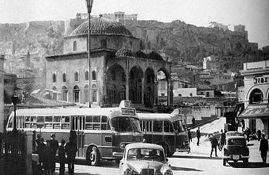 Η σημερινή πλατεία Μοναστηρακίου, το `50 δεν ήταν πλατεία…