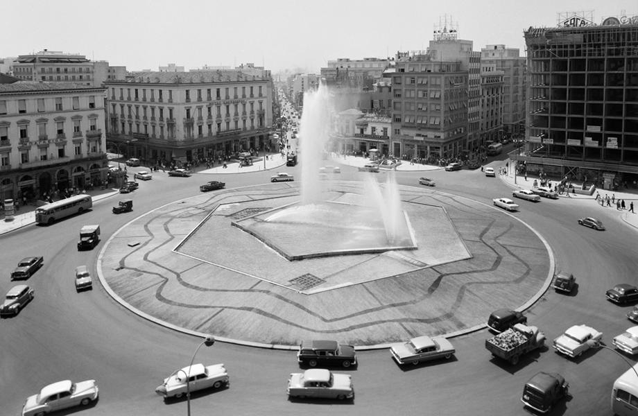 Η ηλιόλουστη πλατεία Ομονοίας του `60.