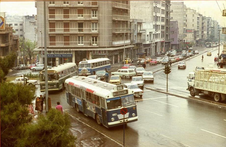 Η αρχή της Λεωφόρου Συγγρού στα `70s.