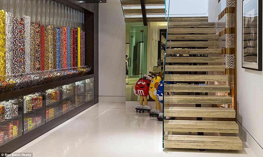 Το πιο γλυκό δωμάτιο του σπιτιού είναι φυσικά γεμάτο ζαχαρωτά!