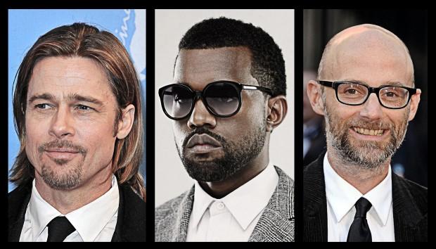 Τι κοινό έχουν ο Brad Pitt, ο Kanye West και ο Moby;