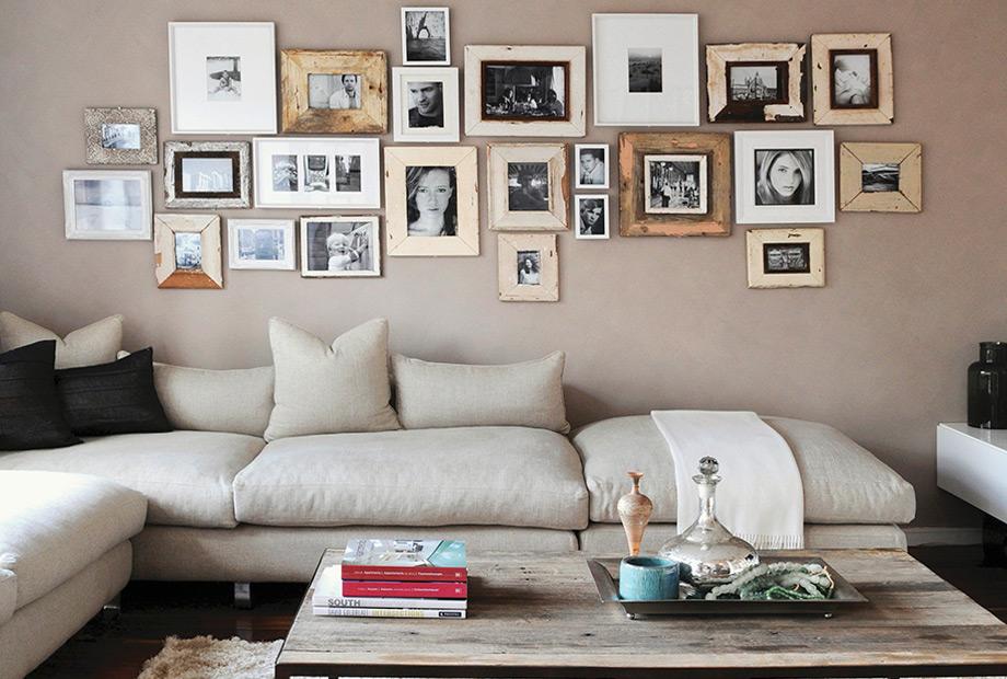 Κάντε τον χώρο δικό σας, βάλτε φωτογραφίες σας και αντικείμενα που έχουν να σας πουν μια ιστορία.