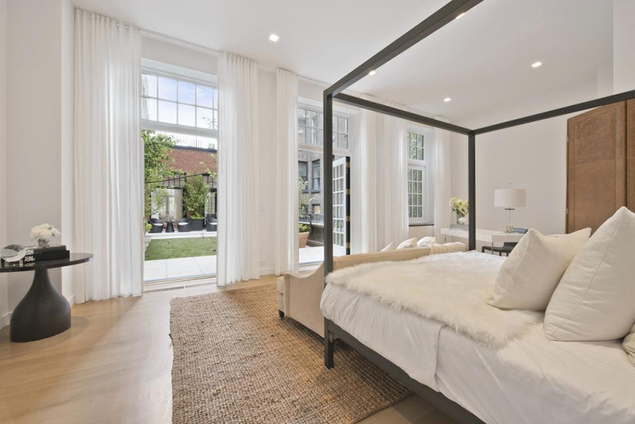 Άποψη του ενός από τα υπνοδωμάτια.