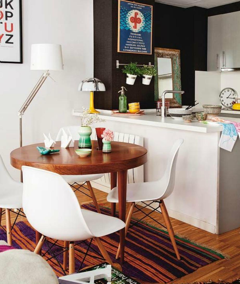 Εκμεταλλευτείτε διακοσμητικά κάθε μικρή γωνία ενός ενιαίου χώρου.