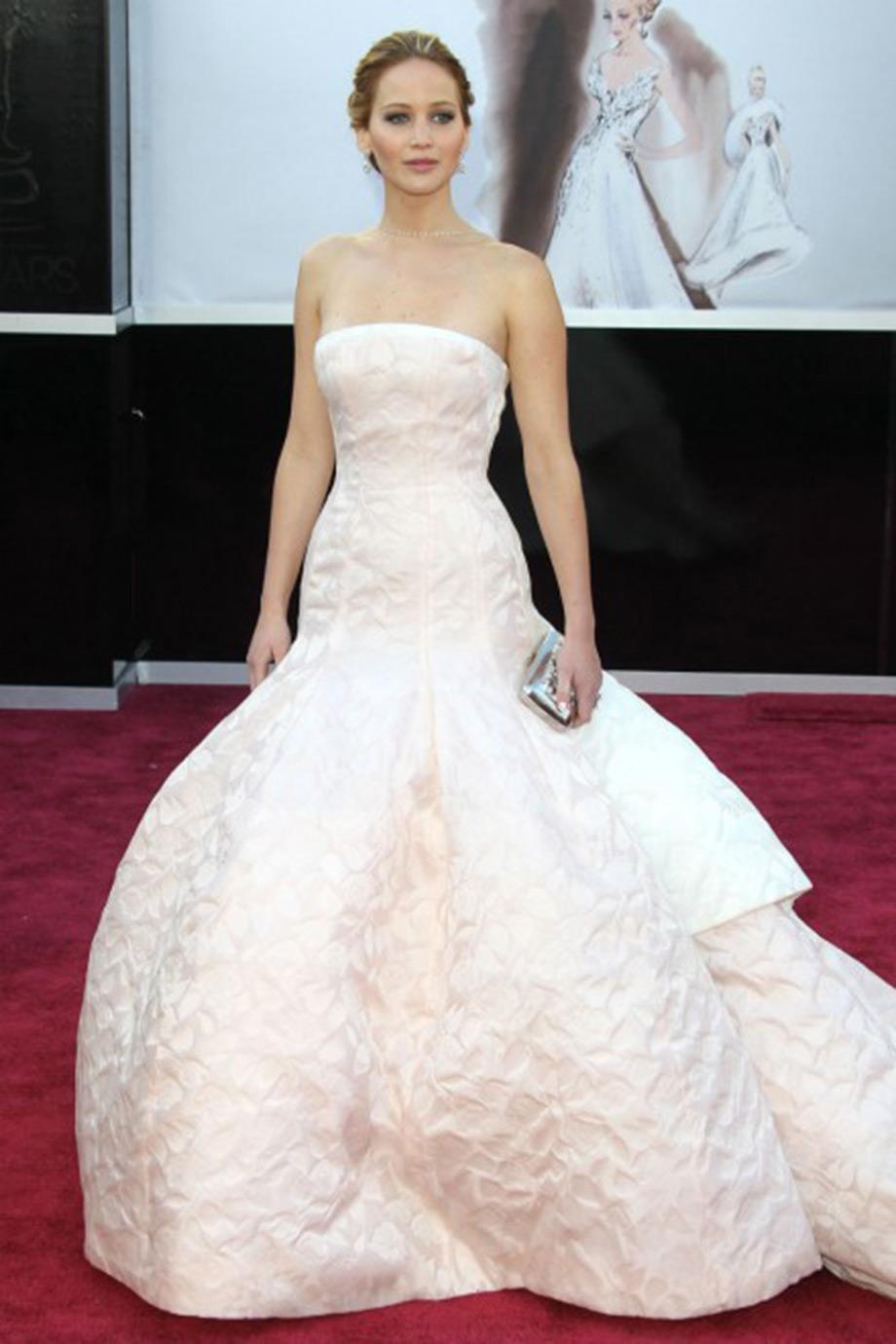 Η ιδιοκτήτρια του σπιτιού Jennifer Lawrence.