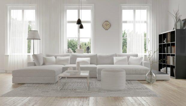 Κάντε τον Λευκό σας Χώρο πιο Ζεστό με 4 Τρόπους!