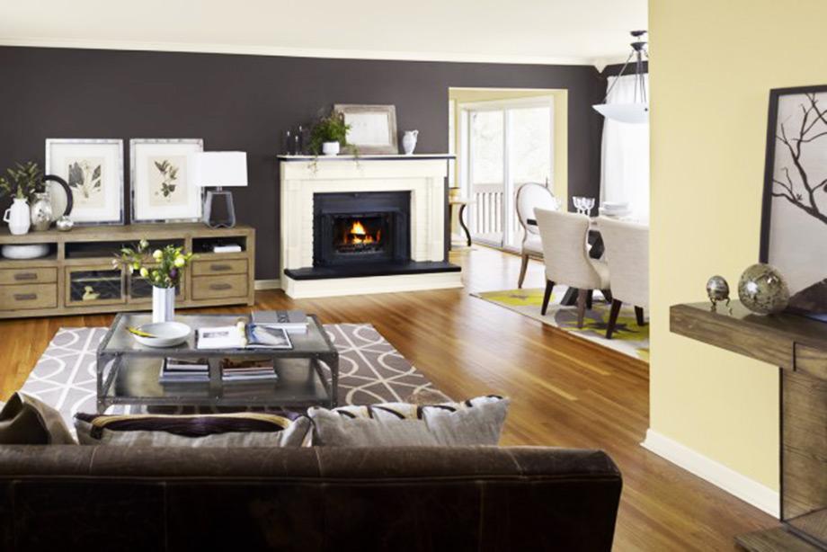 Τολμήστε να βάψετε έναν τοίχο με σκούρο χρώμα και δώστε ένταση και βάθος στον χώρο σας.