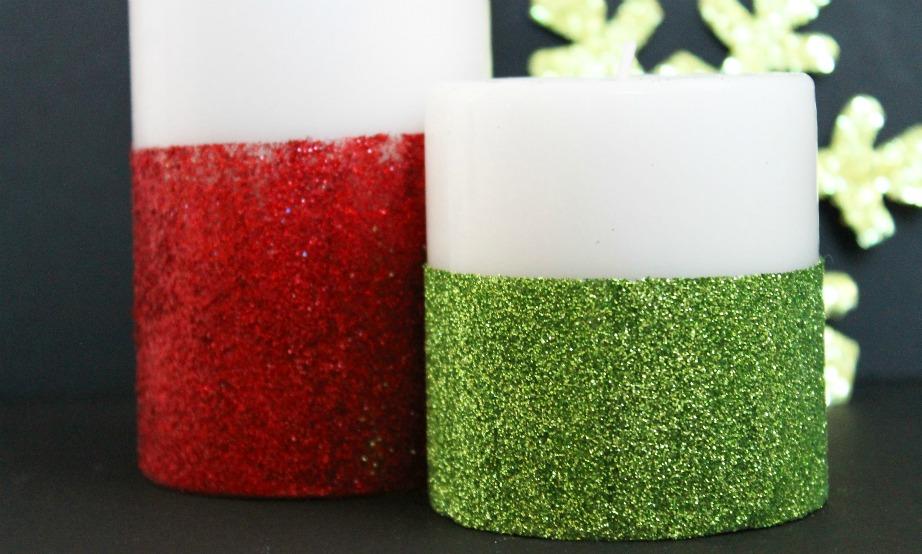 Φτιάξτε πανεύκολα αυτά τα όμορφα χριστουγεννιάτικα κεριά.