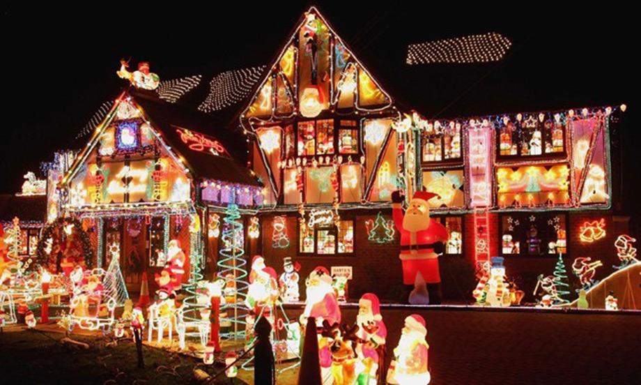 Σε αυτό το σπίτι, ο Άγιος Βασίλης είναι παντού.