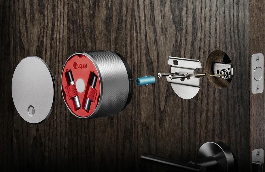 Η κλειδαριά επικοινωνεί με το κινητό σας και ανοίγει την πόρτα σας αυτόματα.