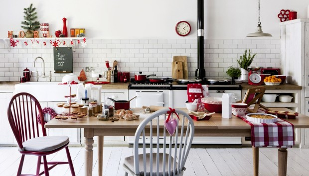 9 Τρόποι για να Βάλετε την Κουζίνα στο Πνεύμα των Χριστουγέννων