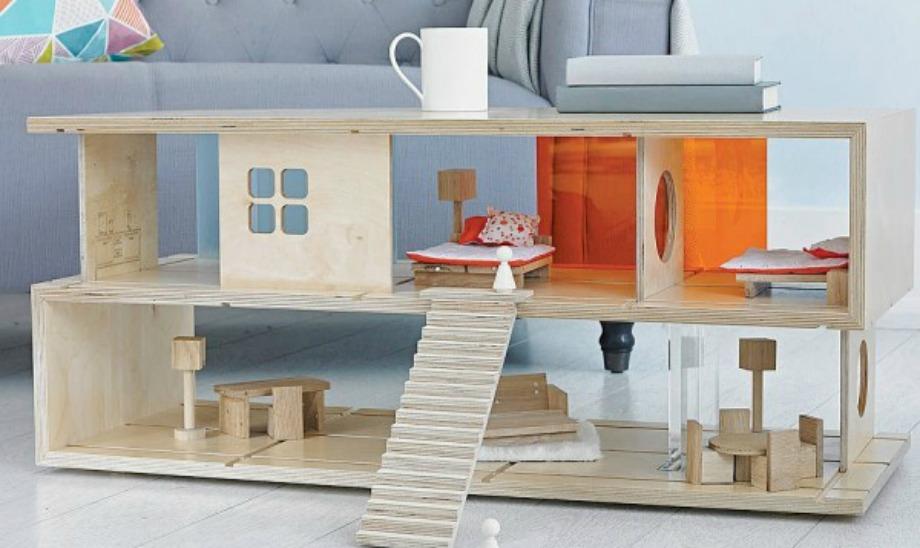 Ένα τραπεζάκι για σπίτι με παιδιά