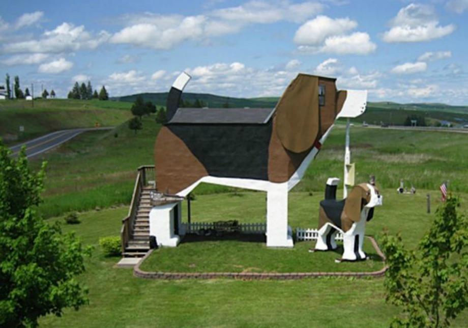 Dog Bark Park Inn στο Idaho
