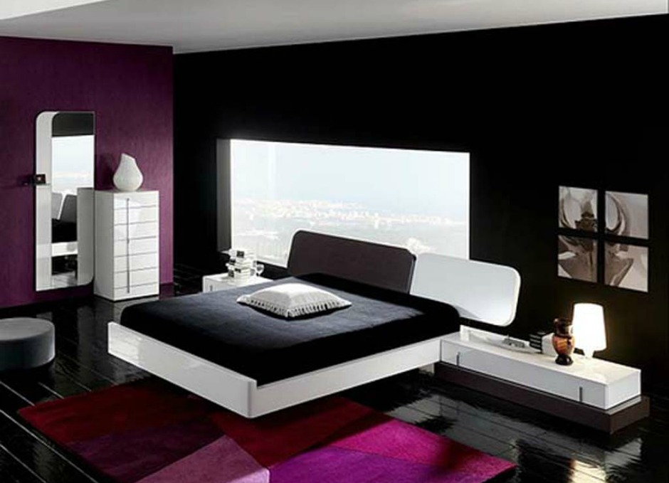Οι ιδιαίτεροι συνδυασμοί χρωμάτων βοηθάνε στο να φαίνεται ένα δωμάτιο πιο μοντέρνο