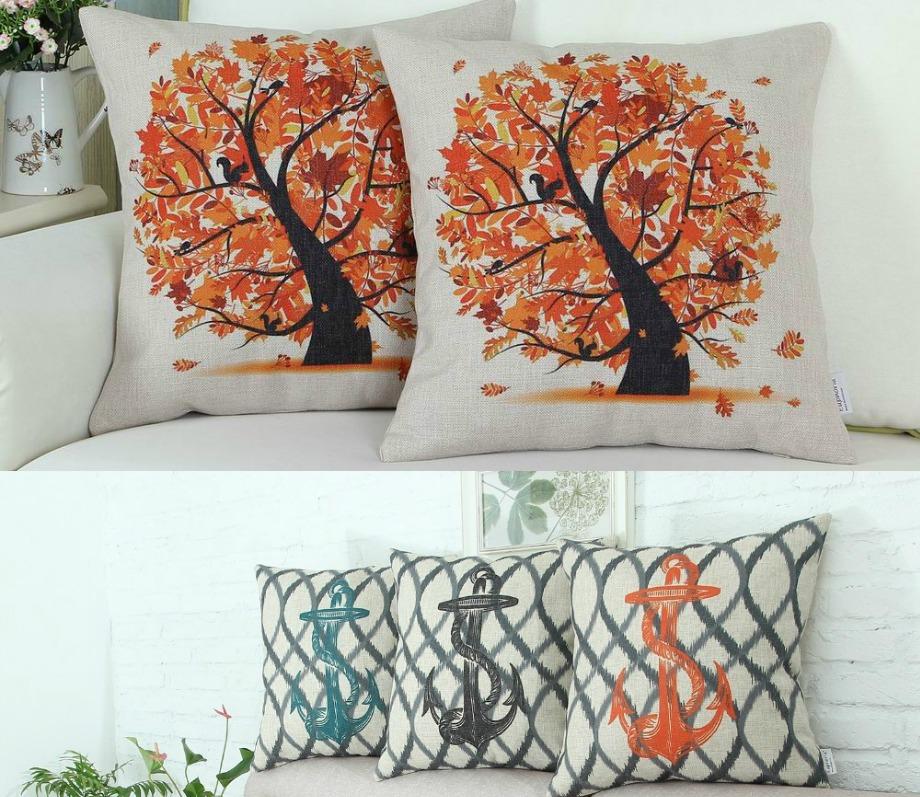 Μαξιλάρια με Φθινοπωρινό και Καλοκαιρινό θέμα