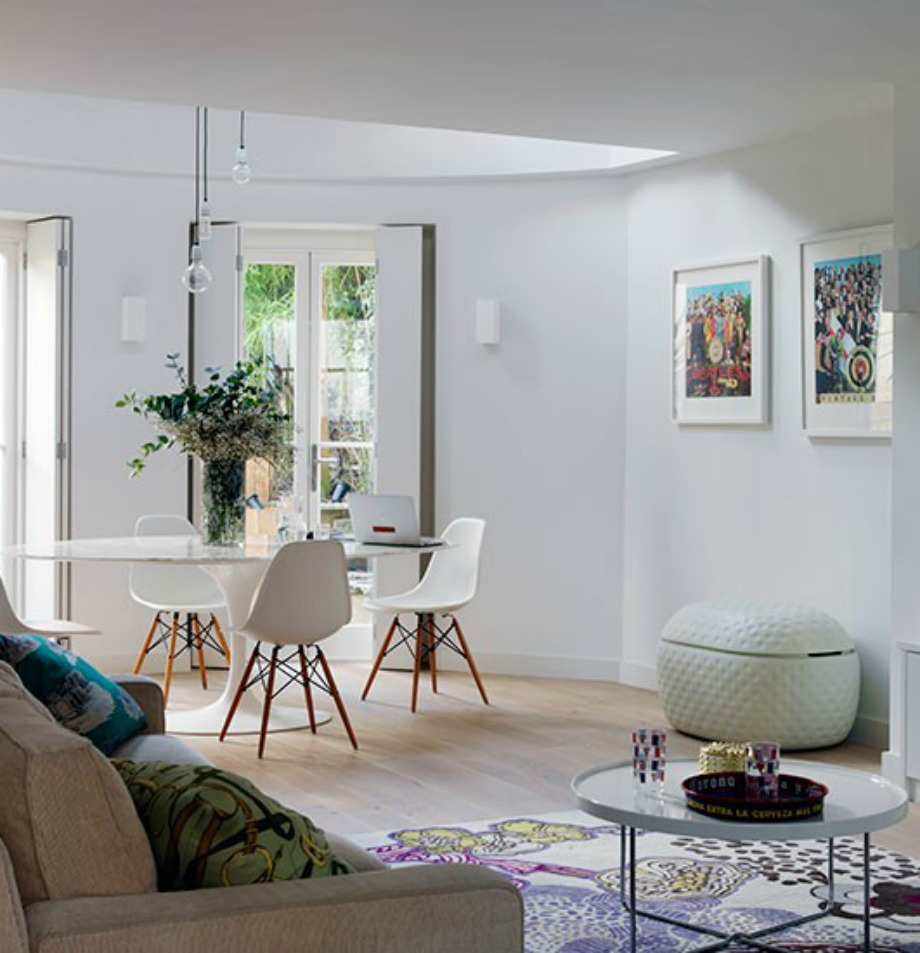 The home issue - Living room idea for small space plan ...