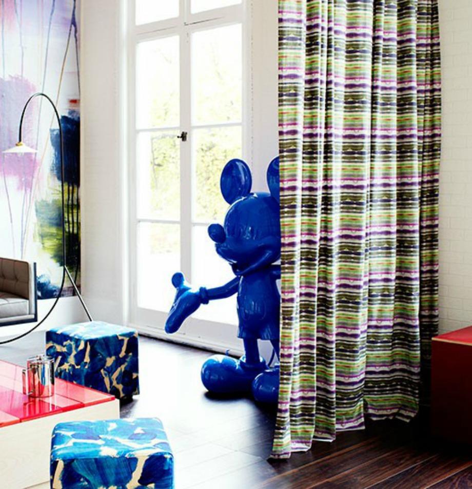 Οι κουρτίνες αποτελούν μία καλή λύση για να χωρίσετε ένα δωμάτιο σε επιμέρους χώρους