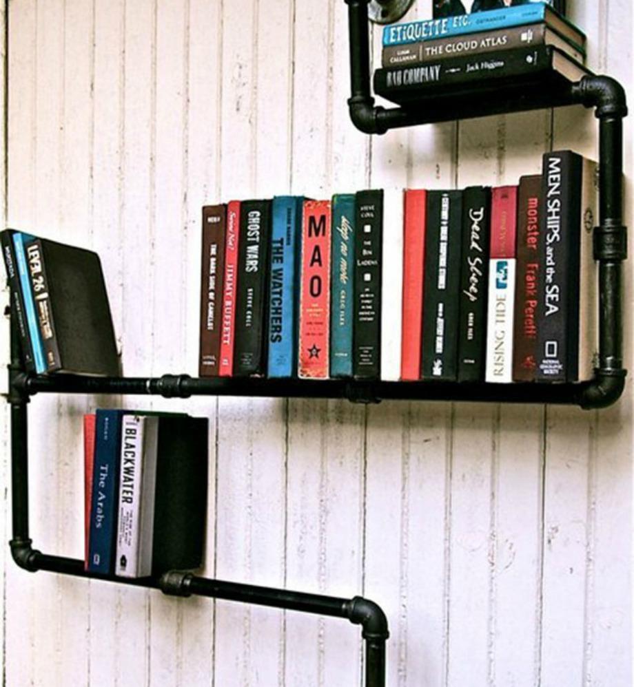 Σωλήνας σε μορφή βιβλιοθήκης
