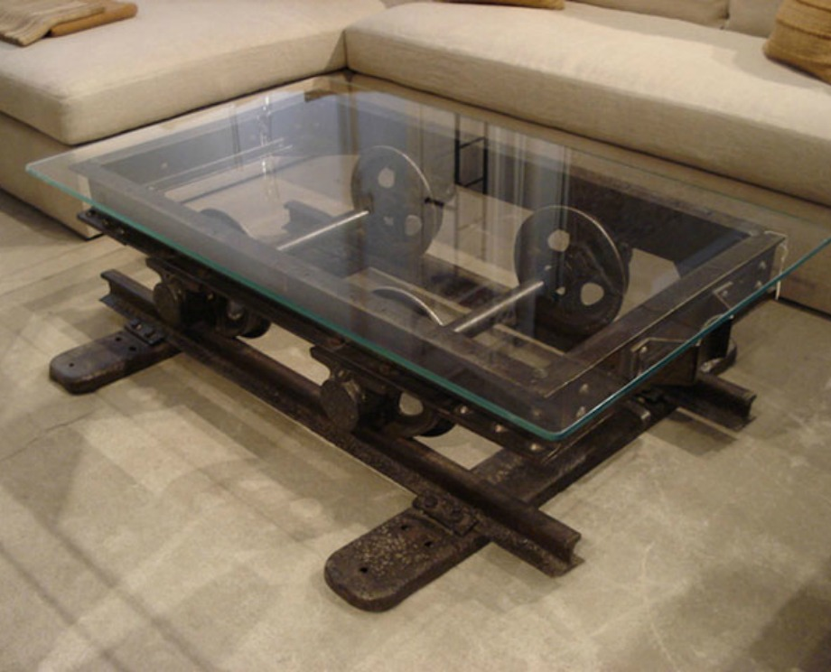 Τραπέζι για industrial διακόσμηση