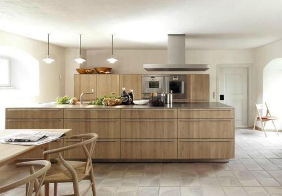 Το ξύλο επιστρέφει δυναμικά στις κουζίνες το 2015