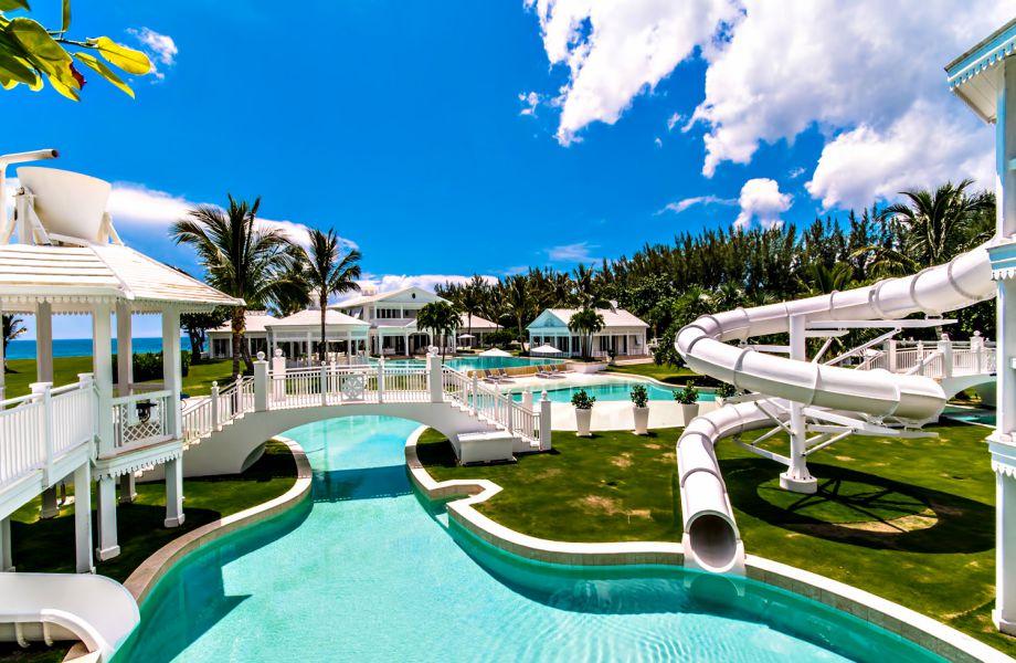 Το εντυπωσιακό υδάτινο πάρκο της Celine Dion.