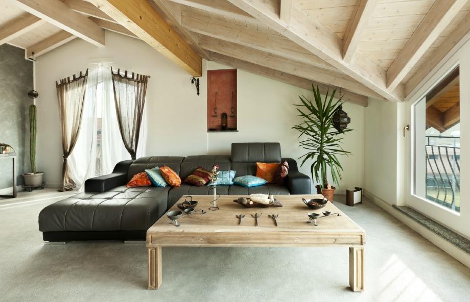 Το ξύλο και η ψάθα ζεσταίνουν το χώρο σας και του χαρίζουν έθνικ ύφος.