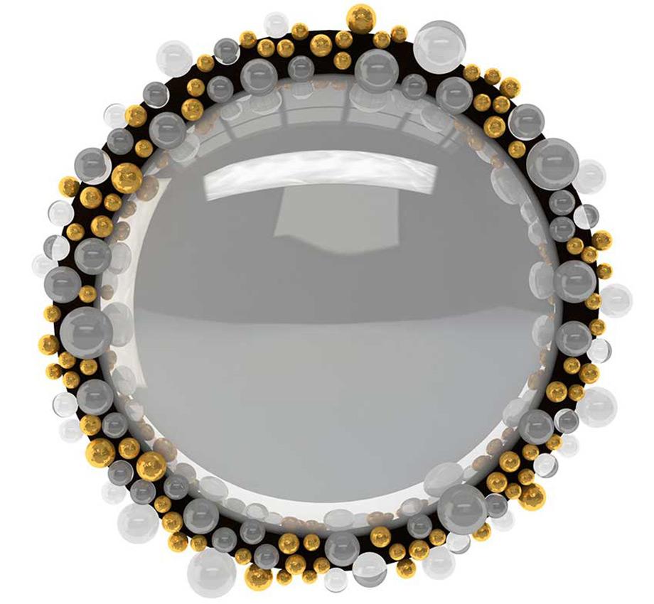 Ο μπρούντζος αποτελεί το αγαπημένο υλικό του σχεδιαστή, που τον χρησιμοποιεί σε όλα τα limited edition κομμάτια του.