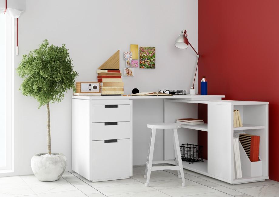 Ένα γραφείο στο καθιστικό του σπιτιού είναι ένα από τα χρήσιμα αντικείμενα που θέλει να έχει ένας άντρας για να κάνει τις δουλειές του με άνεση και ευκολία.