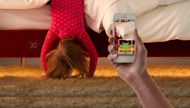 Δείτε πώς ένα Παιδικό Κρεβάτι Διώχνει τους Μπαμπούλες