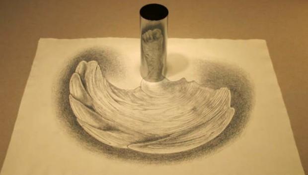 Έργα Τέχνης που αποκτούν Ζωή με τη Βοήθεια ενός Καθρέφτη