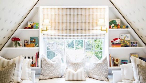 Φτιάξτε ένα Παραμυθένιο Παιδικό Δωμάτιο στη Σοφίτα