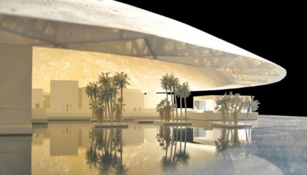 Το Λούβρο του Abu Dhabi είναι Έργο Τέχνης από Μόνο του