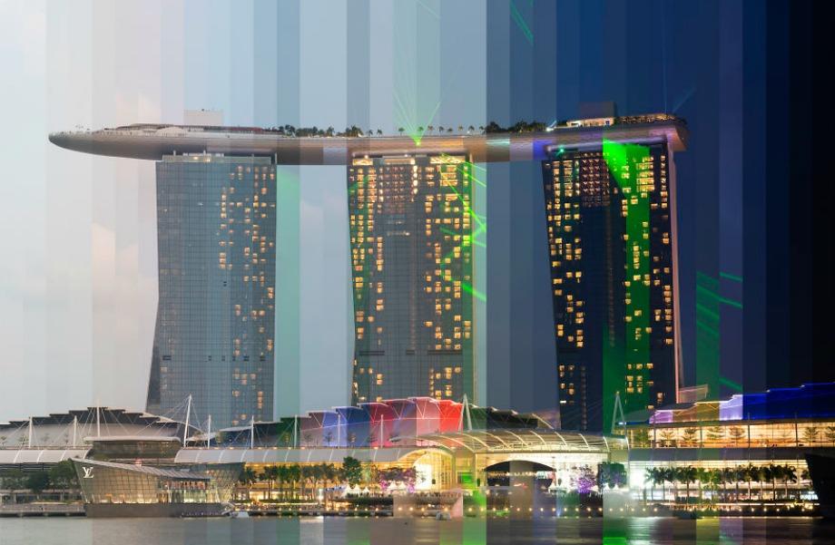 Marina Bay Sands, Συγκαπούρη
