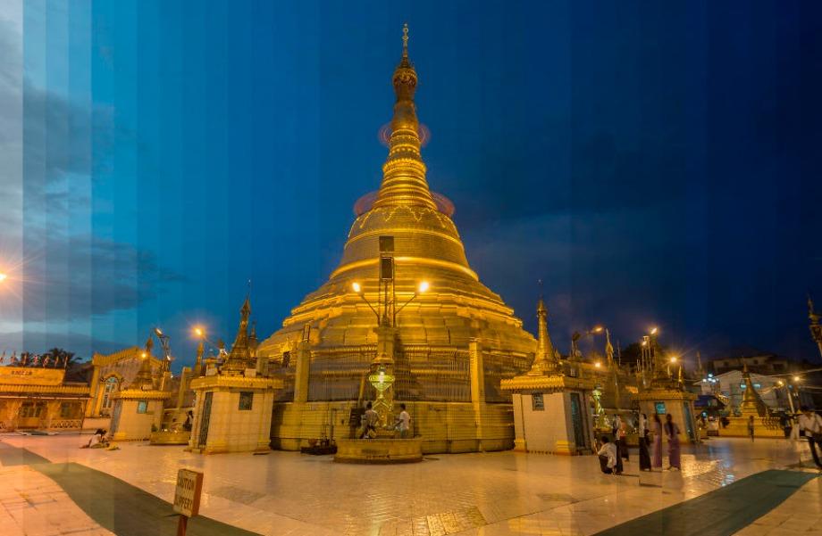 Sula Pagoda, Μιανμάρ