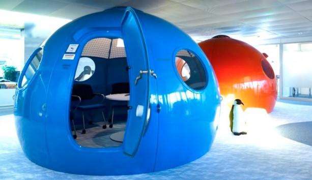 Η Google στη Ζυρίχη έχει τα πιο Cool Γραφεία στον Κόσμο
