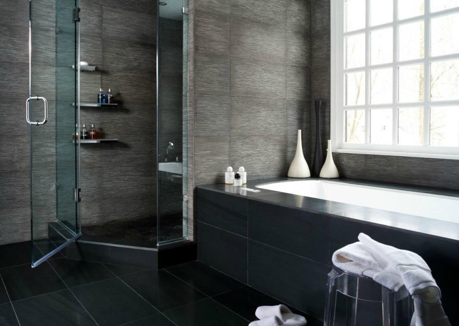 Το χρώμα του κάρβουνου στο μπάνιο