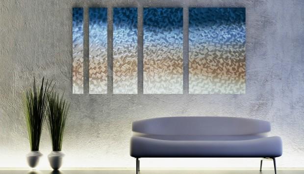 Δεν Φαντάζεστε τι Μπορείτε να Κάνετε στους Τοίχους σας με Μέταλλο