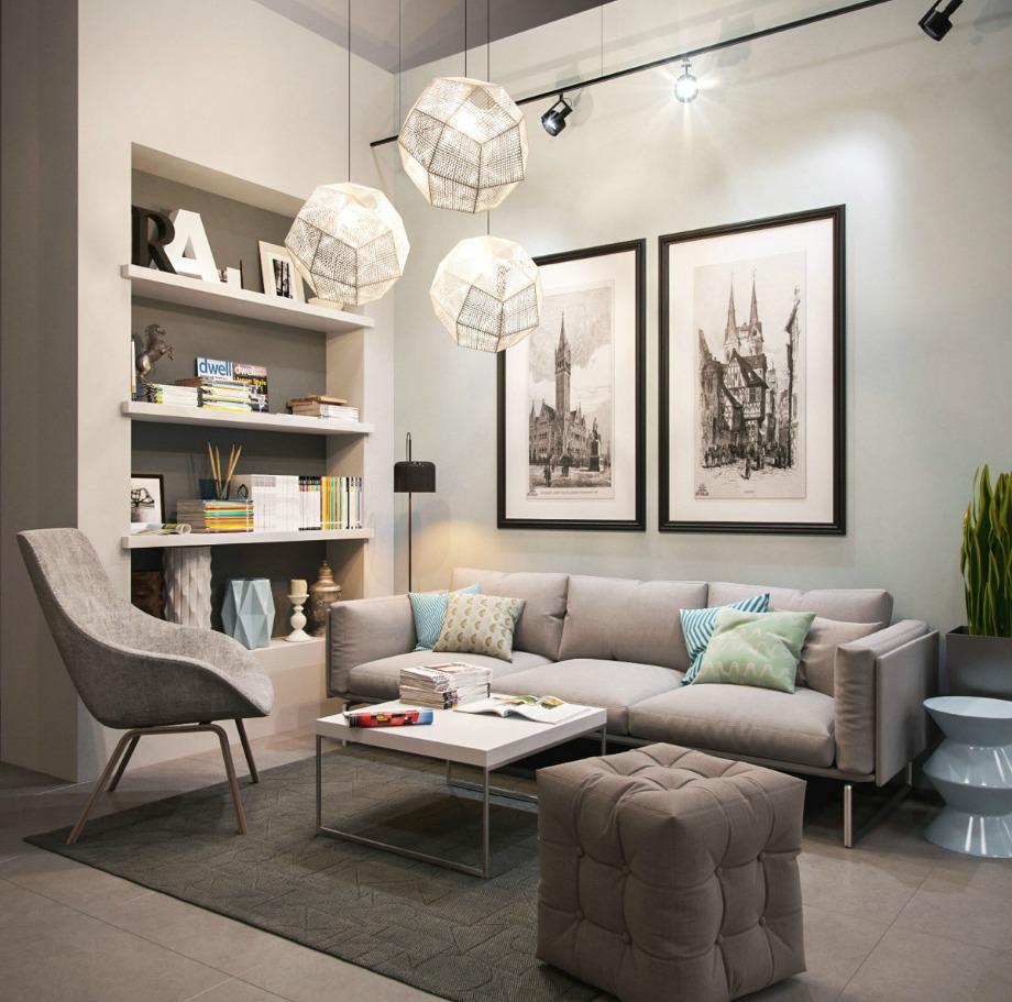 Τα μαξιλάρια μπορούν να ενισχύσουν εύκολα το στιλ ενός απλού καναπέ