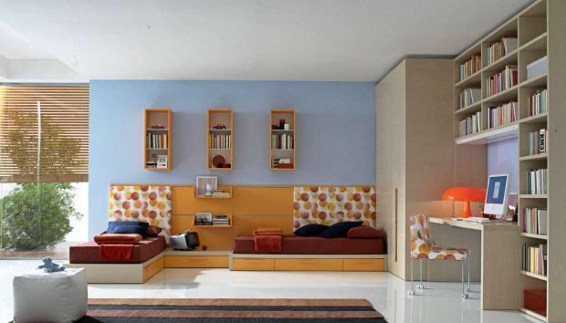 «Τα παιδιά μου μοιράζονται τον ίδιο χώρο. Πώς μπορώ να διακοσμήσω το εφηβικό τους δωμάτιο;»