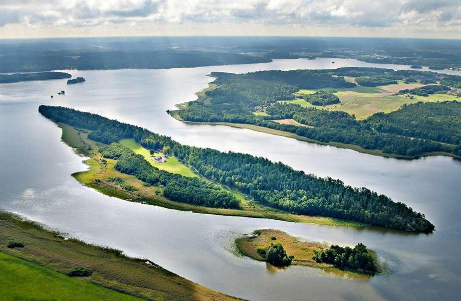 Το ονειρεμένο νησί όπως φαίνεται από ψηλά.