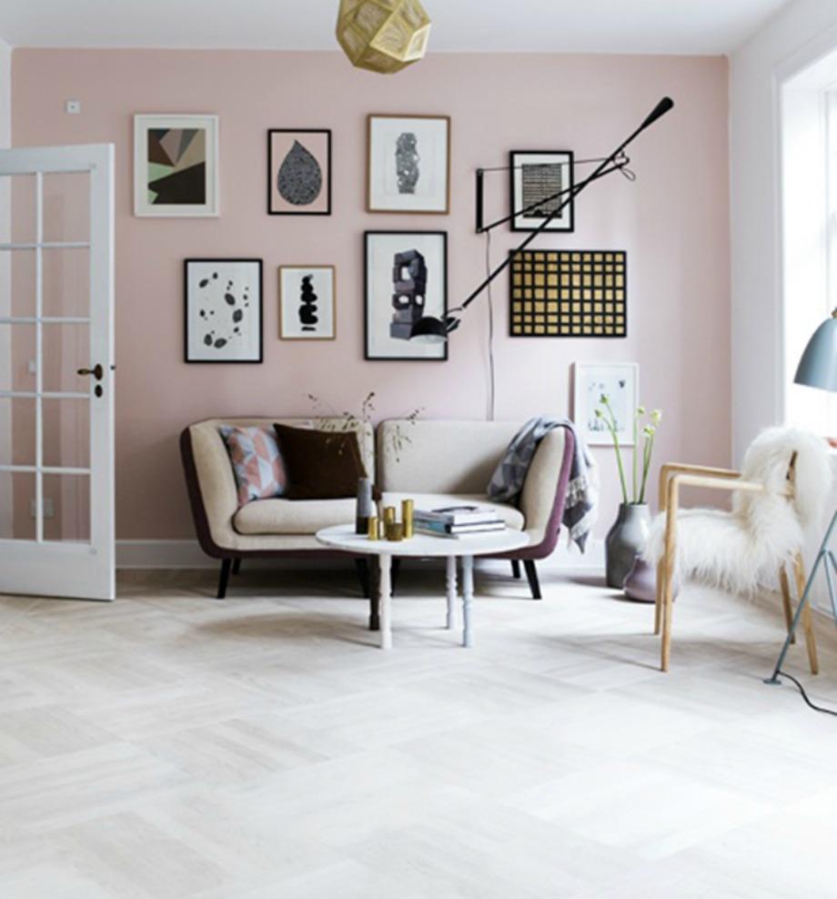 Το παλ ροζ είναι ιδανικό για υπνοδωμάτια, παιδικά δωμάτια αλλά και σαλόνια