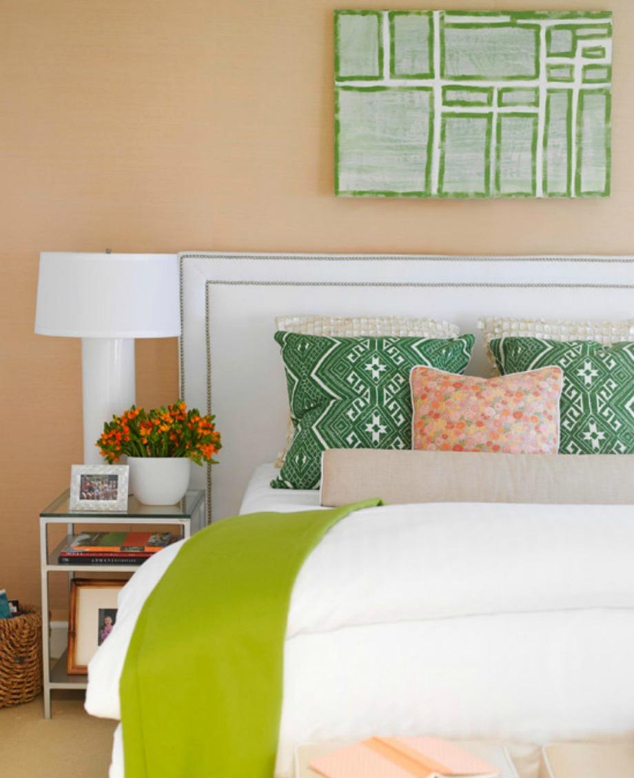 Ένας πίνακας μπορεί να αποτελέσει έμπνευση για τη διακόσμηση ενός ολόκληρου δωματίου