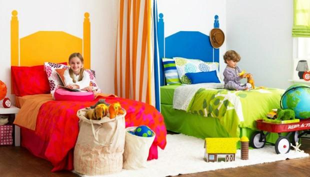 Πετυχημένη Διακόσμηση για Παιδιά που Μένουν Μαζί σε Μικρό Δωμάτιο