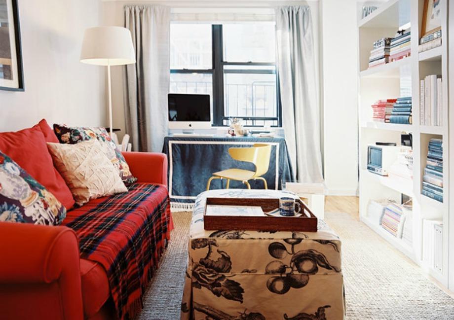 Διαχωρίστε δύο δωμάτια με μια βιβλιοθήκη